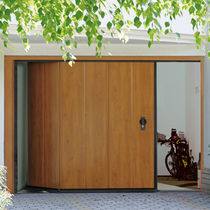 Portes de garage sectionnelles latérales / en acier / automatiques