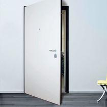 Porte d'interieur / battante / en tôle d'acier / acoustique