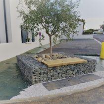 Grille d'arbre en acier / en acier galvanisé / en pierre / carrée