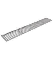 Grille de drainage en acier galvanisé / en acier inoxydable / pour espace public / pour espace vert