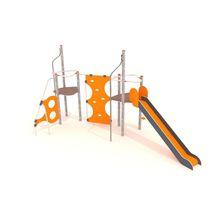 Structure de jeu en HDPE / en métal / pour aire de jeux