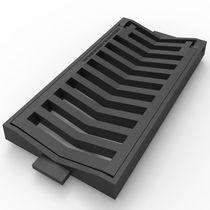 Grille de drainage en fonte / pour espace public / pour espace vert