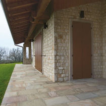Parement en pierre naturelle / d'extérieur / d'intérieur / 3D