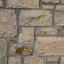 Parement en pierre naturelle / d'extérieur / d'intérieur / texturé