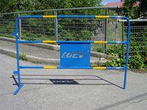 Barrière de protection / en acier / pour chantier
