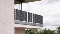 Panneau photovoltaïque monocristallin / flexible / BIPV / pour balcon