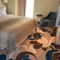 Moquette tissée / en laine / pour chambre d'hôtel