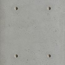 Parement en béton / intérieur / texturé / coloré