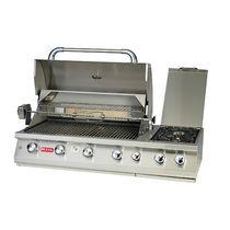 Barbecue à gaz / à encastrer / en acier inoxydable / professionnel