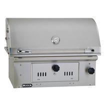 Barbecue à charbon / à encastrer / en acier inoxydable / professionnel