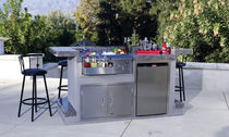 Bar de jardin résidentiel