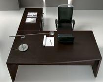 Bureau de direction / en bois / en métal / en mélaminé