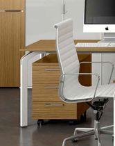 Caisson de bureau en métal / en bois / en mélaminé / à 3 tiroirs