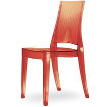 Chaise visiteur contemporaine / en polycarbonate / empilable / recyclable