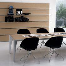 Chaise de bureau contemporaine / en métal / en polypropylène / piètement étoile