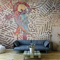 Papiers peints contemporains / en tissu / en vinyle / à motifs animaliers
