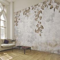 Papiers peints contemporains / en tissu / en vinyle / à motif nature