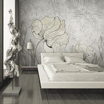 Papiers peints contemporains / en tissu / en vinyle / à motifs floraux