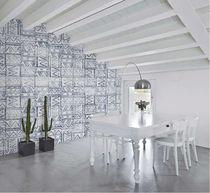 Papiers peints contemporains / en tissu / en vinyle / à motifs géométriques