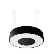 Luminaire suspendu / fluocompact / rond / en acier