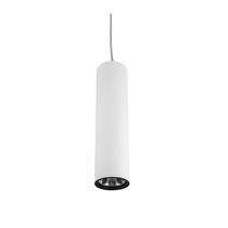 Downlight suspension / à LED / tubulaire / en acier