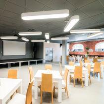Luminaire suspendu / à LED / fluorescent / halogène