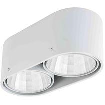 Spot en saillie / à LED / halogène / rond