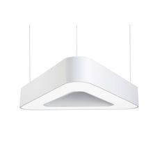 Luminaire suspendu / à LED / fluorescent / triangulaire