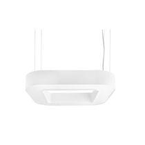 Luminaire suspendu / à LED / fluorescent / carré