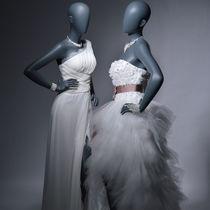 Mannequin de vitrine femme / stylisé