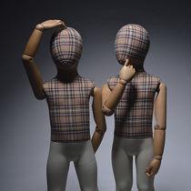 Mannequin de vitrine enfant / abstrait / flexible