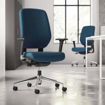 Chaise de bureau contemporaine / à roulettes / avec accoudoirs / hauteur réglable