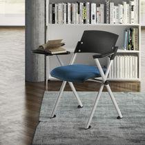 Chaise de conférence tapissée / avec accoudoirs / empilable / à tablette
