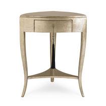 Table d'appoint classique / en plaqué bois / en érable / en pin