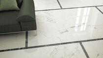 Carrelage aspect marbre / d'intérieur / pour sol / en grès cérame