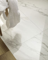 Carrelage aspect marbre / d'intérieur / de sol / pour sol