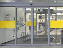 Profilé pour porte en aluminium / antipanique