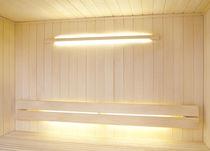 Applique murale contemporaine / pour sauna / en verre / à halogène
