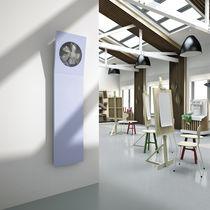 Radiateur à eau chaude / en tôle d'acier / contemporain / mural