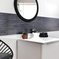 Carrelage de salle de bain / mural / en grès cérame / uni