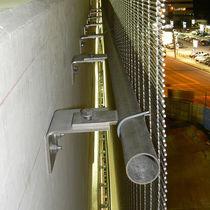 Système de fixation en métal / pour bardage de façade / pour extérieur