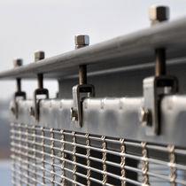 Système de fixation en acier inoxydable / pour bardage de façade / pour mur-rideau / pour extérieur