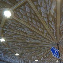 Faux-plafond en inox / en maille métallique / en panneaux / grillagé