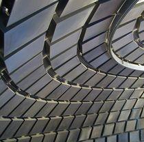 Faux-plafond en maille métallique / en inox / en panneaux / acoustique