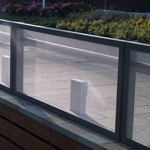 Garde-corps en métal / à barreaux / d'extérieur / pour balcon