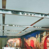 Faux-plafond en métal / en panneaux / acoustique