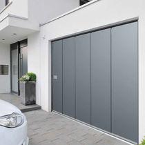 Portes de garage sectionnelles latérales / en acier galvanisé / automatiques / isolantes