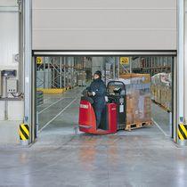 Porte industrielle enroulable / en tissu / en polyuréthane / automatique