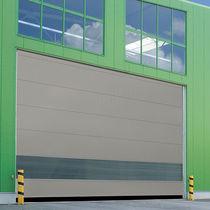 Porte industrielle enroulable / en acier / en tissu / automatique