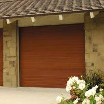 Portes de garage sectionnelles / bois / automatiques